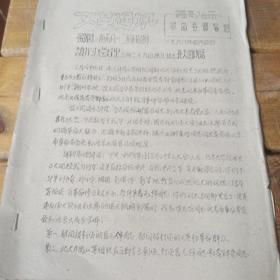 文革通讯第38期谢副总理3月29日北大的讲话