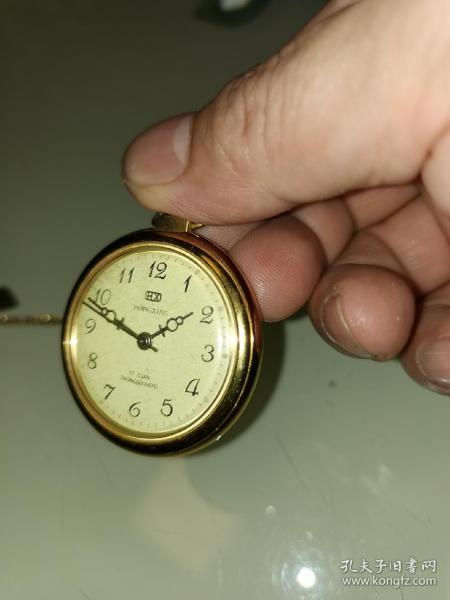 怀表机械表(上劲可正常走时)