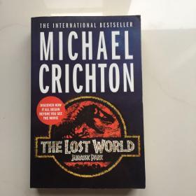英文原版 THE  Lost World  侏罗纪公园2失落的世界