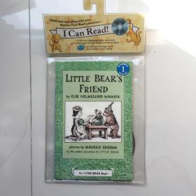 Little Bear's Friend (Book + CD) (I Can Read, Level 1)小熊和朋友  英文原版桥梁章节读物  带CD