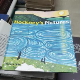 正版】英文原版 HOCKNEY'S PICTURES PB 霍克尼图片