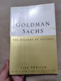 Goldman Sachs : The Culture of Success[高盛成功文化]