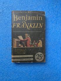 (1940年初版) Benjamin Franklin: the autobiography ( 布面精装)铜板插图