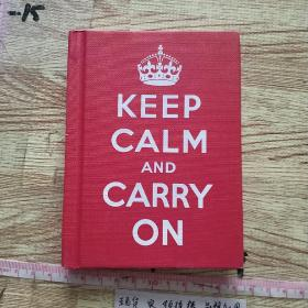 Keep Calm and Carry On  保持冷静并坚持不懈: 对低潮时期的建议
