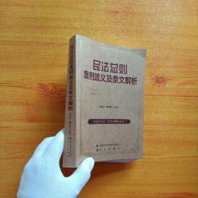 民法总则案例疏义及条文解析【书内有少量字迹】