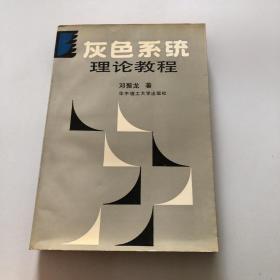 灰色系统理论教程  自然旧无笔记