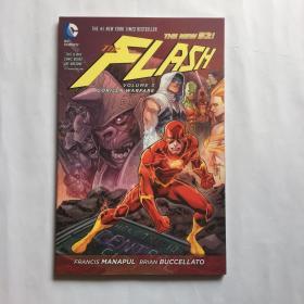 The Flash Vol. 3:Gorilla Warfare 英文原版漫画  DC漫画