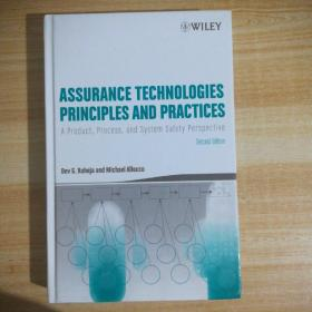 Assurance Technologies Principles and Practices: A Product, Process, and System Safety Perspective