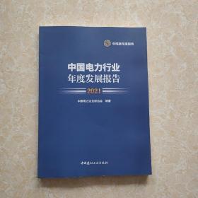 中国电力行业年度发展报告2021   正版品好未翻阅