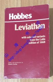 Leviathan: With Selected Variants from the Latin Edition of 1668