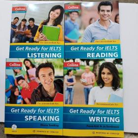 (Collins English for Exams)Collins Get Ready for 带3张光盘 Get Ready for IELTS Writing (Collins English for Exams)Collins Get