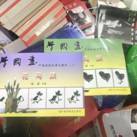 中国画技法普及教材(一  ,二)-学国画 花鸟集:中国画技法普及教材  17-5架