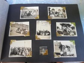广州老照片  广州地方资料  现在的中山大学    50年岭南大学照片8张