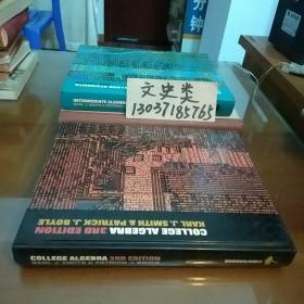College Algebra大学代数英文原版(16开硬精装。包正版现货无写划)