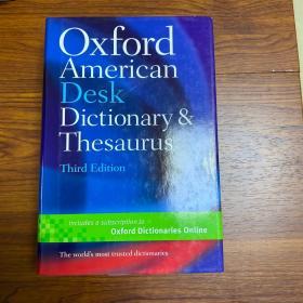 Oxford American Desk Dictionary & Thesaurus (Third Edition)