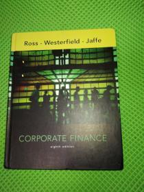 Ross Westerfield Jaffe Corporate Finance 英文原版正版