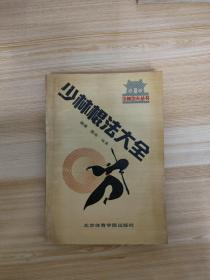 《少林棍法大全》少林功夫丛书 一版一印