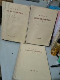 1985年天津中医学院高等教育中医专业自学考试辅导纲要:上,中,下册(一),三本齐售,价低。