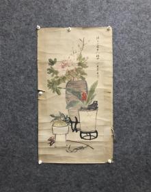 民国 博古图 老画