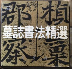 墓志书法精选.第六册.元桢墓志、奚真墓志
