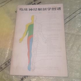 临床神经解剖学图谱(1984年一版一印)