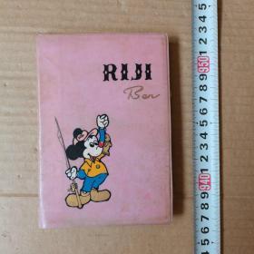 笔记本,米老鼠日记本