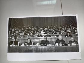 1978年全国科学大会举行全体会议主席台