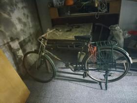 怀旧自行车 二八大杠自行车 品相好