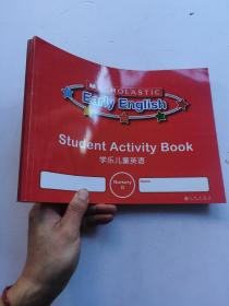 学乐儿童英语   Scholastic Early English Nursery(A+C+D)   3册合售