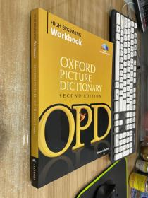 Oxford Picture Dictionary High Beginning Workbook (Book + 4 Audio CDs)牛津图片词典 英文原版