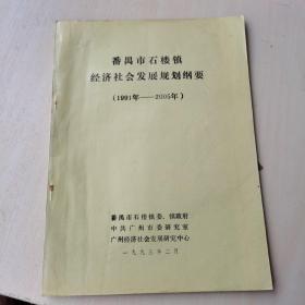 番禺市石楼镇经济社会发展规划纲要(1991年-2005年)