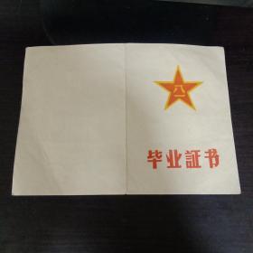 中国人民解放军后勤学院毕业证书