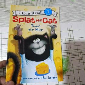 Splat the Cat: Twice the Mice(I Can Read Level 1)小猫雷弟:两只老鼠