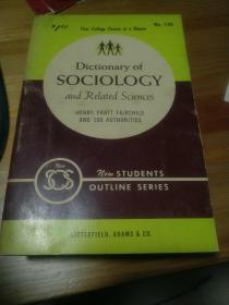dictionary of sociology and related sciences