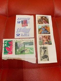 法国德国美国邮票