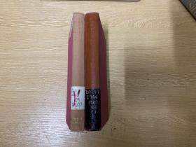 The Diary of John Evelyn  约翰·伊夫林日记,和 佩普斯日记 为一时瑜亮,2卷全,人人文库版,布面精装,1952年老版书