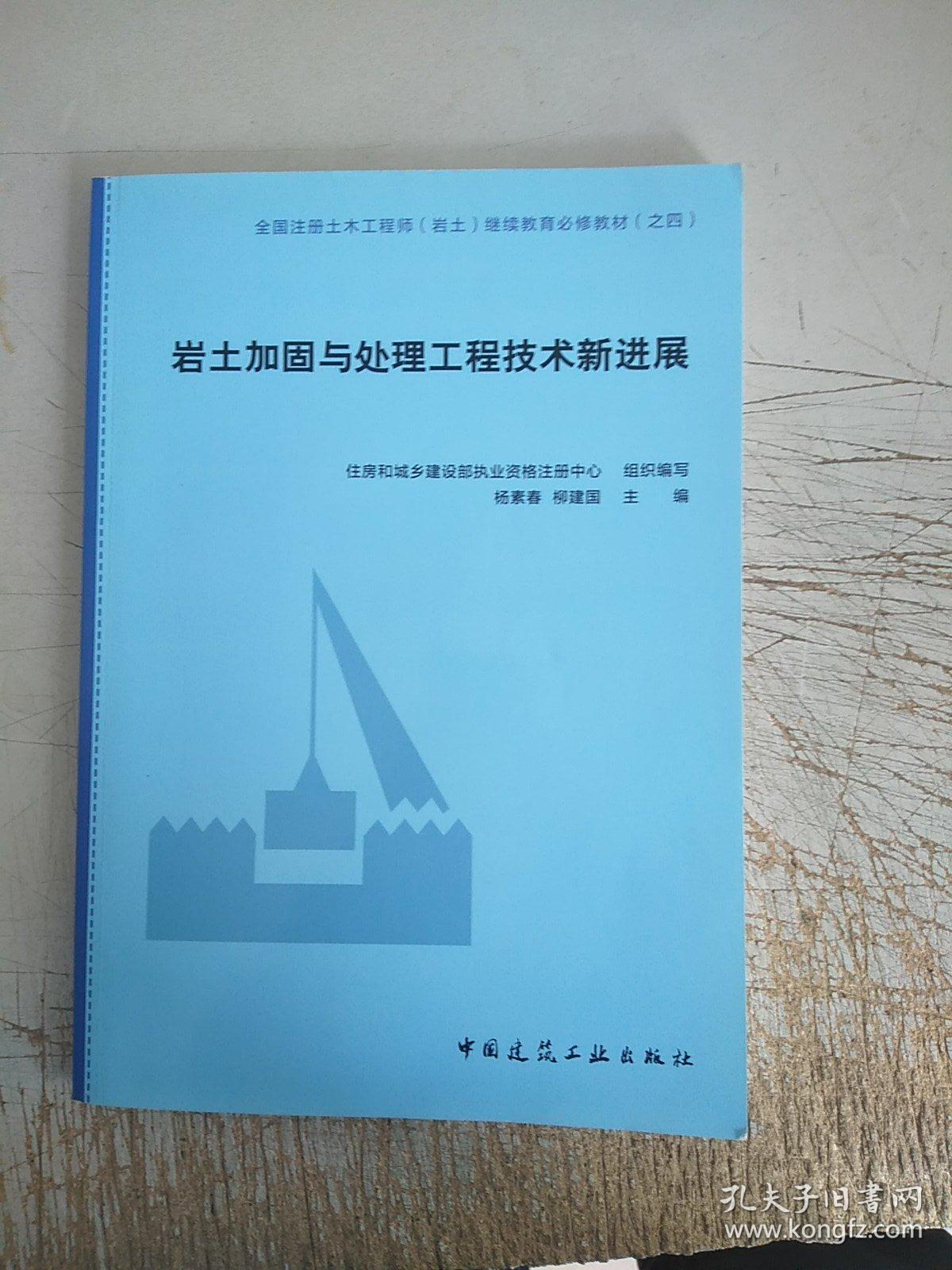岩土加固与处理工程技术新进展(有几页划线)