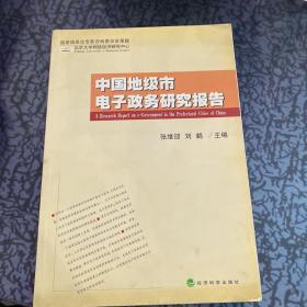 中国地级市电子政务研究报告