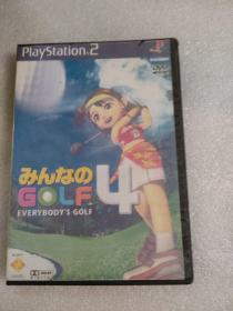 游戏光盘playstation2全民高尔夫4