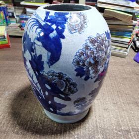 陶瓷罐 菊花