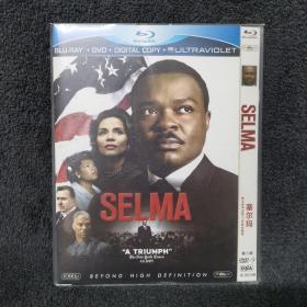 塞尔玛 第二版 DVD9  蓝光盘 碟片未拆封 外国电影 (个人收藏品) 内封套封附件全