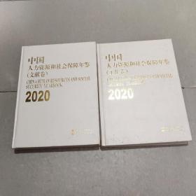 2020中国人力资源和社会保障年鉴(工作卷)(文献卷)