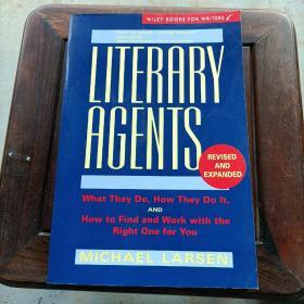 Literary Agents【文学经纪人,迈克尔·拉尔森,英文原版】