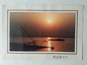 现代艺术摄影原照之五:霜染秦淮水