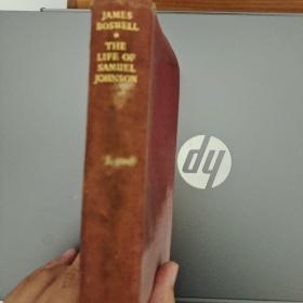 小开本 精装英文书 The  Life  of Samuel  Johnson(塞缪尔 约翰逊的一生,自己翻译的书名,可能不准,具体还请买家自鉴)详情见商品品相描述,售出后不退不换