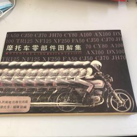 摩托车零部件图解集