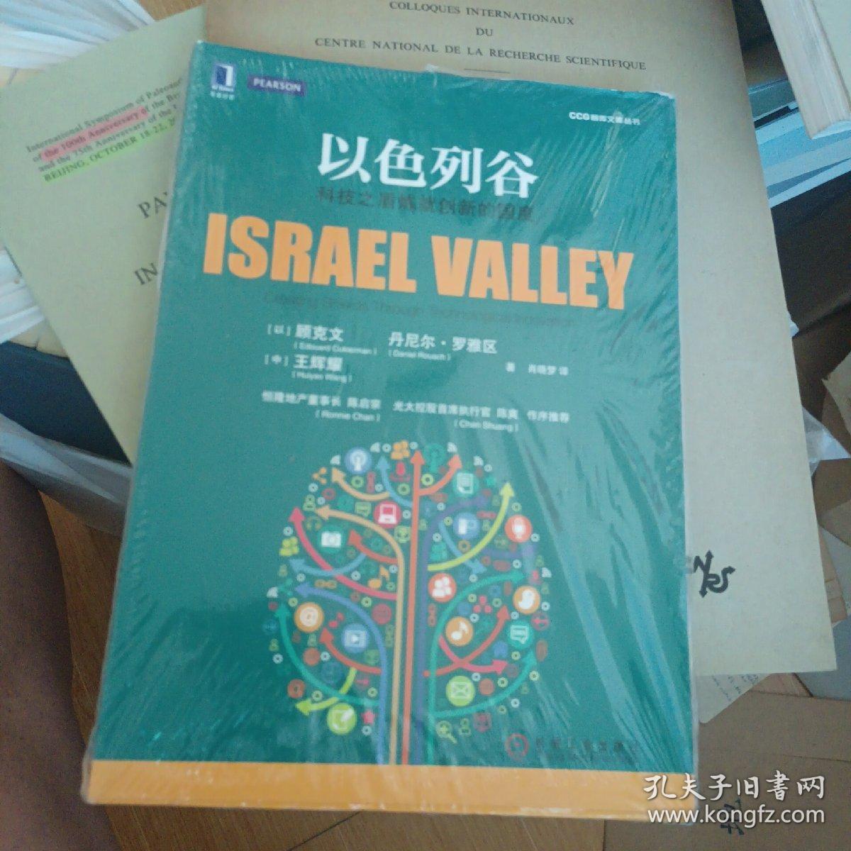 以色列谷:科技之盾炼就创新的国度(全新未开封)
