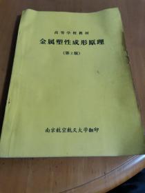 金属塑性成形原理(第2版)