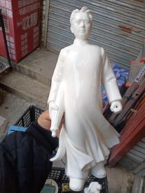 毛主席去安源瓷像,不包年代。