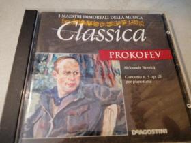 普罗科菲耶夫《第三钢琴协奏曲》【进口原版CD】